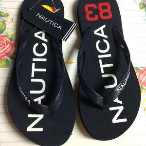 Nautica Kids Dark Blue 'Hatcher 10' Flip Flop